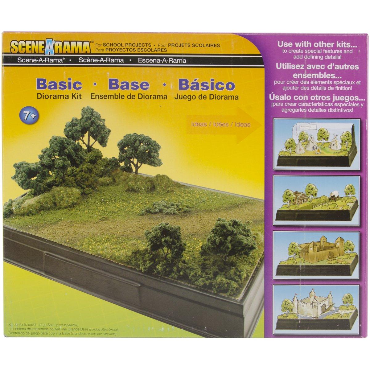 Tree Base Diorama