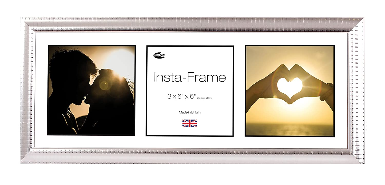 Amazon.de: Inov8 21 x 8 Insta-Frame-Bilderrahmen für 3 Bilder ...