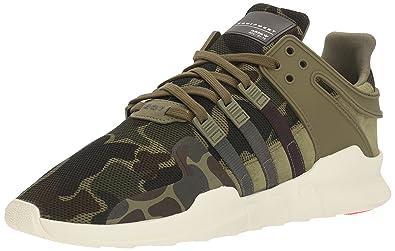 adidas Damen Equipment Support a Low Top Sneaker, Grau, Grün Olive Cargo Urban Earth Night Cargo Fabric Größe: 48 EU D(M)