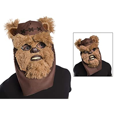 Rubie's Star Wars Classic Child's Ewok Movable Jaw Mask: Toys & Games