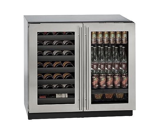 uline builtin beverage center and wine storage 36u0026quot