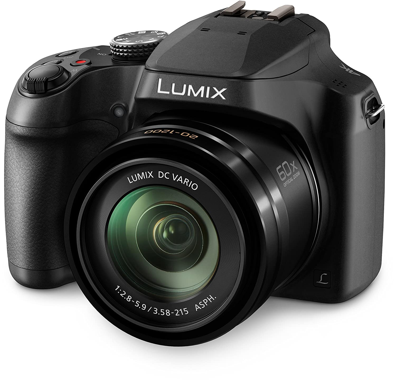 Panasonic LUMIX FZ80 4K Long Zoom Camera