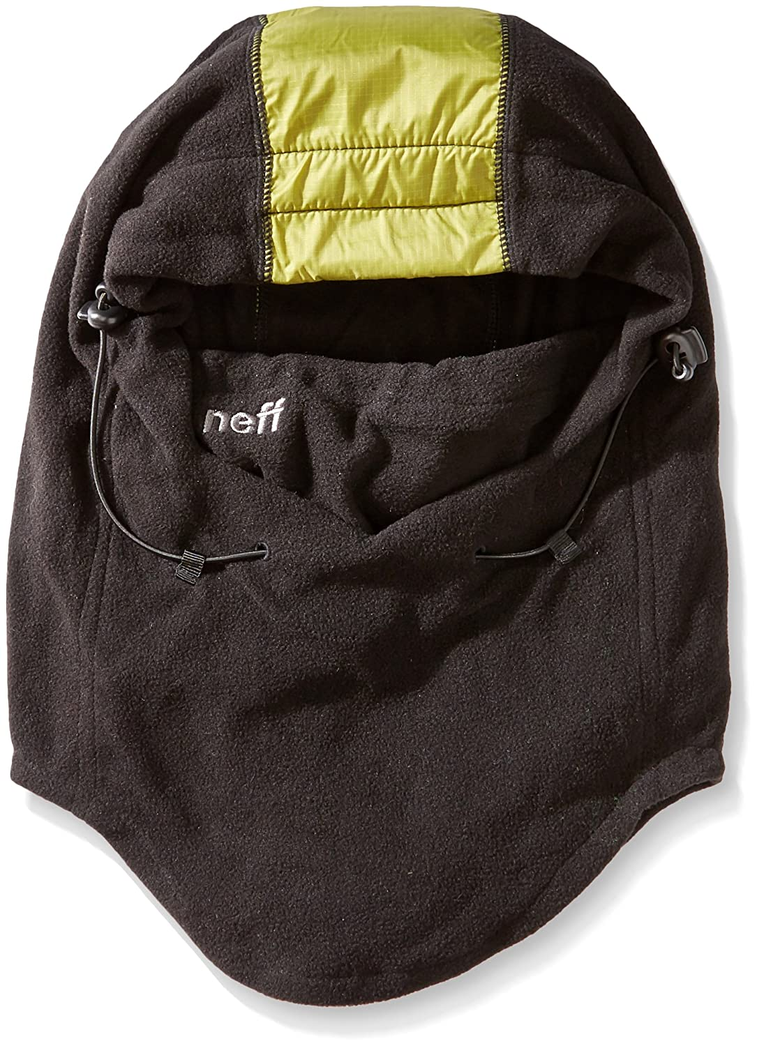 neff Men's Riding Hood neff Men' s Riding Hood Black/Olive One Size Neff Young Men' s