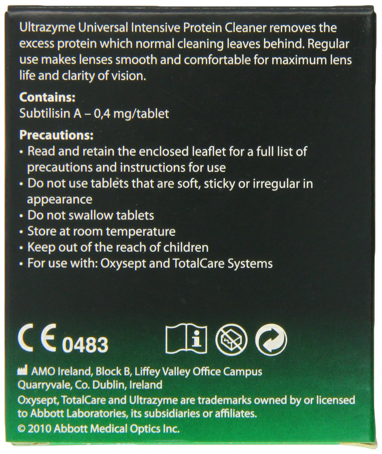 Amazon Amo Ultrazyme Protein Remover Tablets 10 By HealthLand Health Personal Care