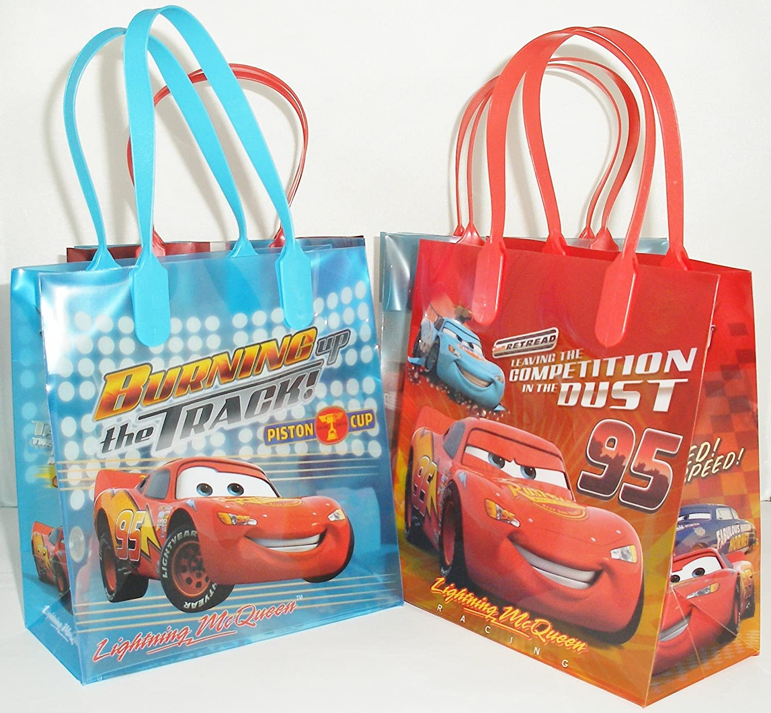 Amazon Disney Car Party Favor Goodie Small Gift Bags 12 Pcs Toys Games