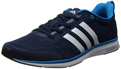info for d4ab3 2a027 adidas Performance Adizero Feather 4, Mens Running Shoes, Blue (Collegiate  NavyRunning
