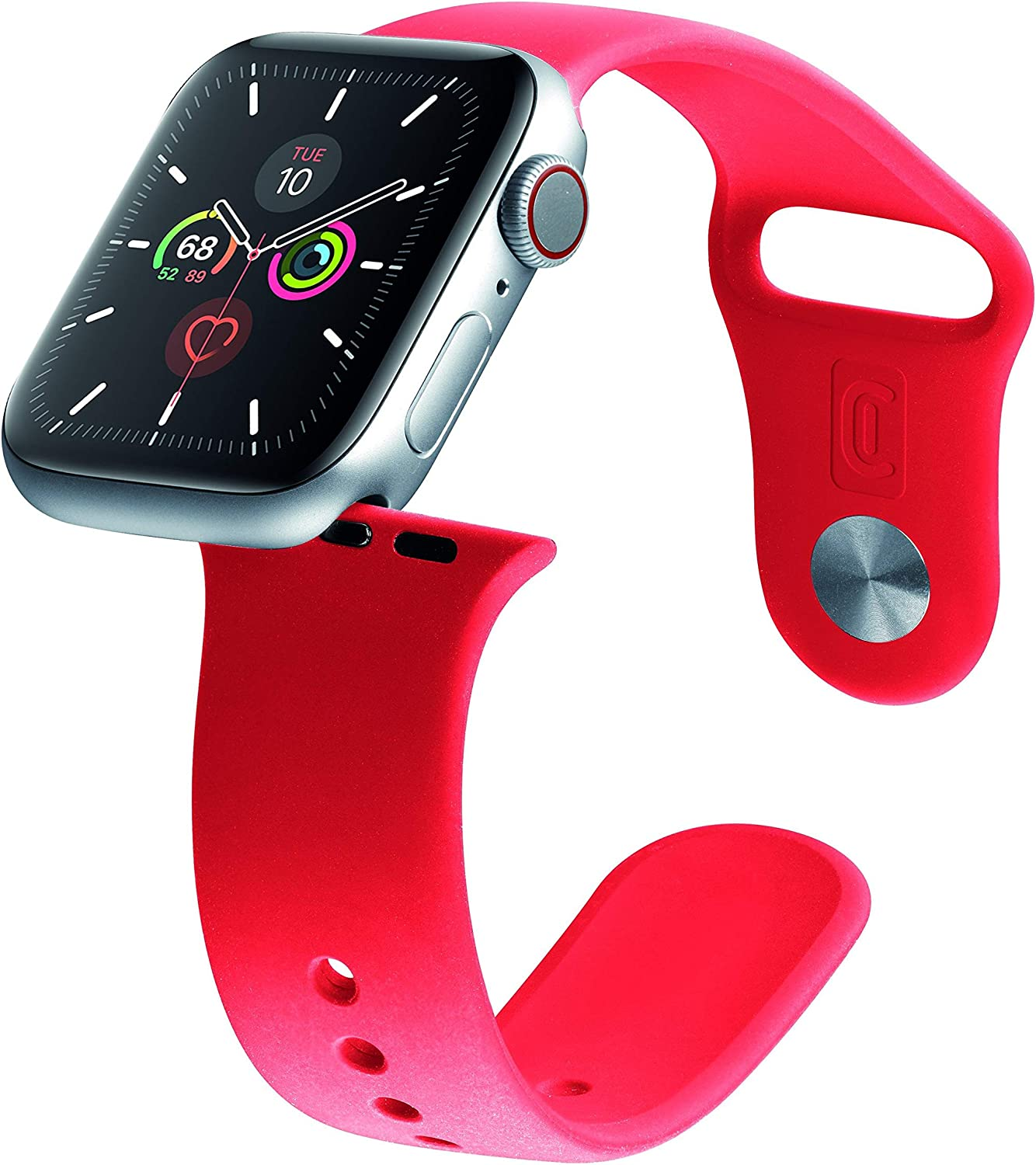 Cellularline Urban Band, Silicone Strap for Apple Watch 38/40mm