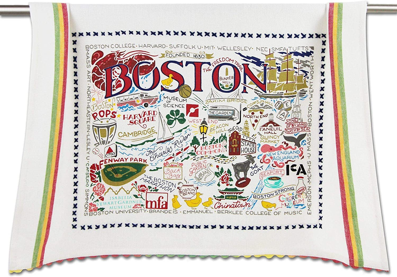catstudio Boston Dish & Hand Towel | Great for Kitchen, Bar, & Bathroom
