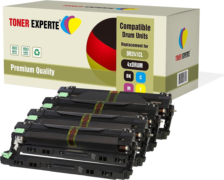 TONER EXPERTE/® Compatible DR241 DR-241CL 15000 P/áginas Negro Tambor para Brother DCP-9015CDW DCP-9020CDW MFC-9140CDN MFC-9330CDW MFC-9340CDW HL-3140CW HL-3142CW HL-3150CDW HL-3170CDW HL-3172CDW