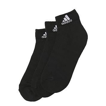 sale retailer 2175c 93434 Adidas Kids 3-Stripes Performance Ankle Socks (pair Of 3) - Black