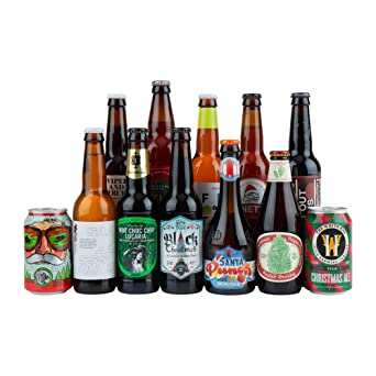 Limited Edition Beer Hawk Winter Craft Beer Selection - 12 Beers - Perfect Beer Gift Set