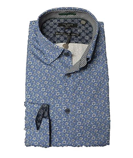 972c4ba73 Ted Baker Thornto Mens LS Floral Printed Shirt (XLarge (Manufacturer ...