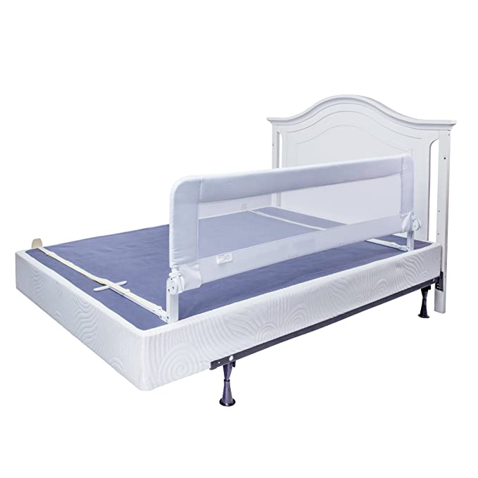 Amazon.com: Barra de cama para cuna convertible, doble para ...