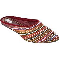 Shree Women's Rajasthani Ethnic Fashion Slipper