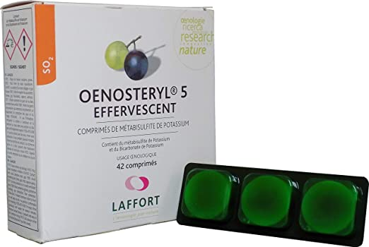 LAFFORT OENOSTERYL 5 (Effervescent) - Preventivo y curativo ...