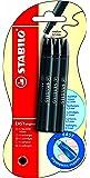 Stabilo Easy Original Blister de 6 Recharges en encre noire effaçable 0,5 mm