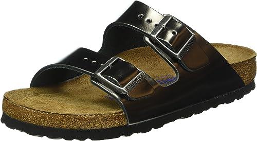 BIRKENSTOCK Damen Arizona SFB Leather Pantoletten