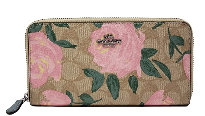 Image Unavailable. Image not available for. Colour  ACCORDION ZIP WALLET  WITH CAMO ROSE FLORAL ... 889c3f3fc6