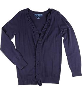 86e0386e103 Amazon.com  Pink Angel Girls School Uniform Open Cardigan Sweater ...