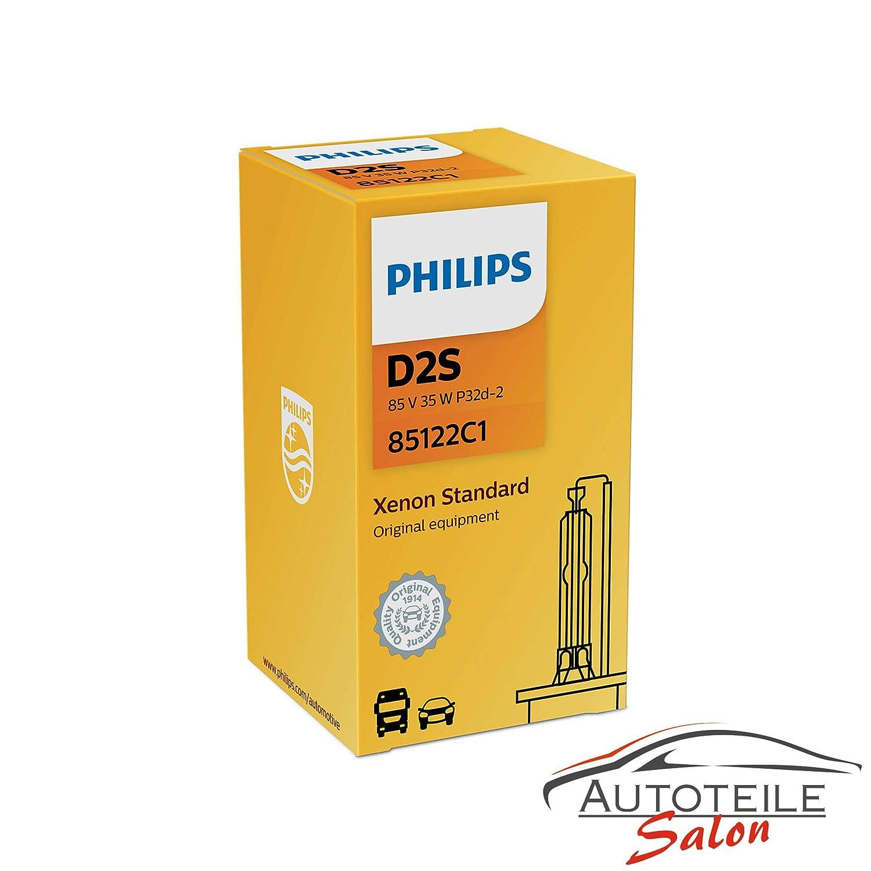 Philips Xenon Brenner D2S 85122C1 85V 35W Lamp