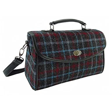 656c970a9f1 Image Unavailable. Image not available for. Colour  New Ladies Classic  Handbag Harris Tweed ...