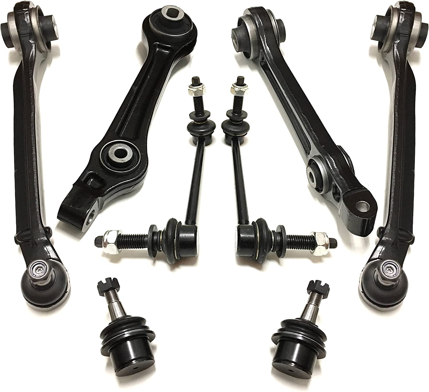4Pcs Suspension Kit Front Lower Control Arms For 2005 2006-2010 Chrysler 300 RWD