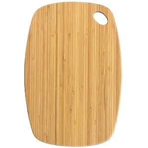 "Totally Bamboo GreenLite Dishwasher Safe Bamboo Cutting Board, ""Jet"" Series 13-1/2"" x 9"""