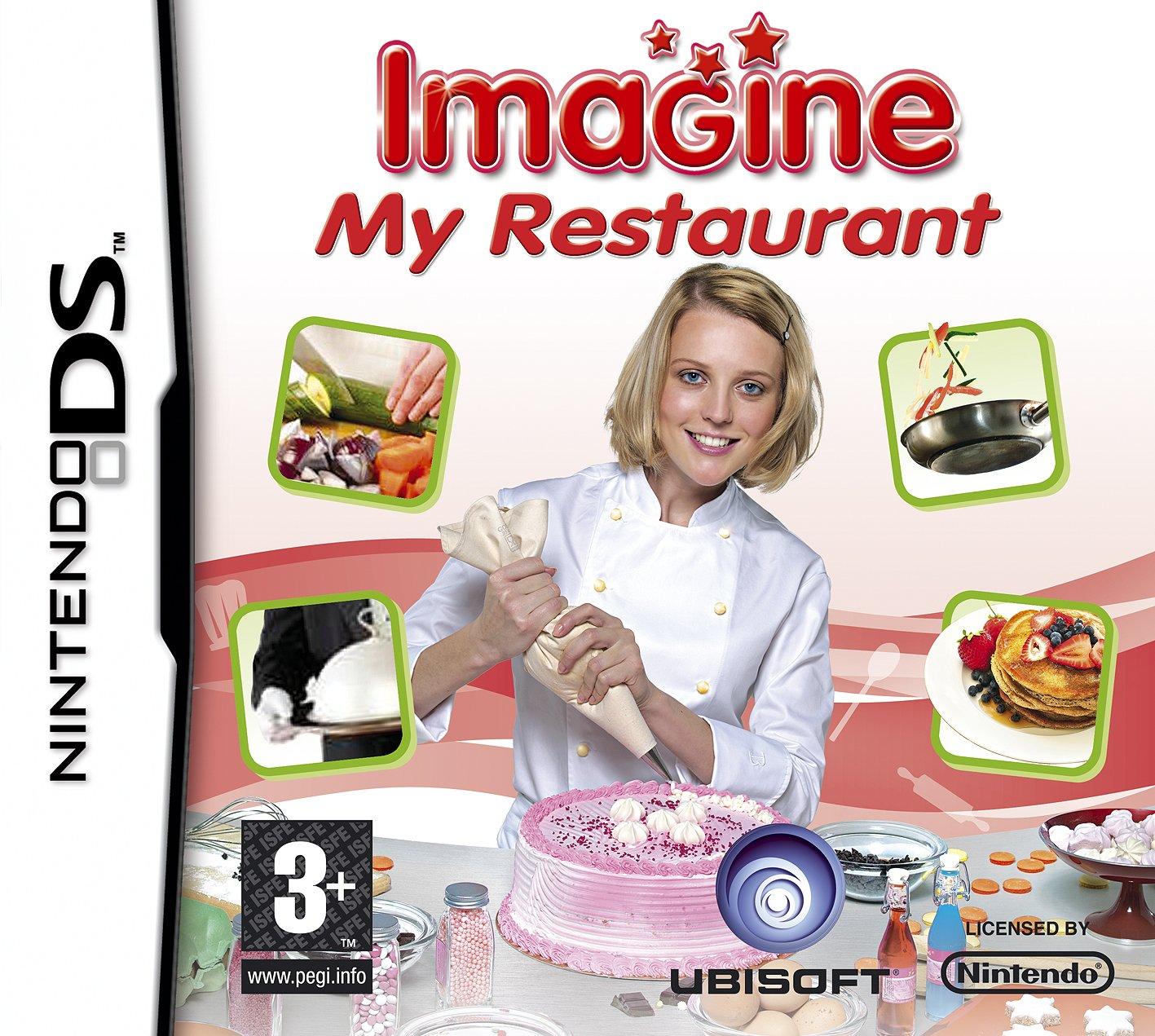 Imagine My Restaurant Nintendo DS