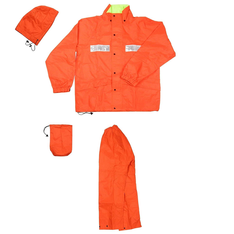 AITOZ | レインウエア(FS-1400)【耐水圧10,000mmクラス】 #AZ-562402 B0083R9GMU M|オレンジ オレンジ M