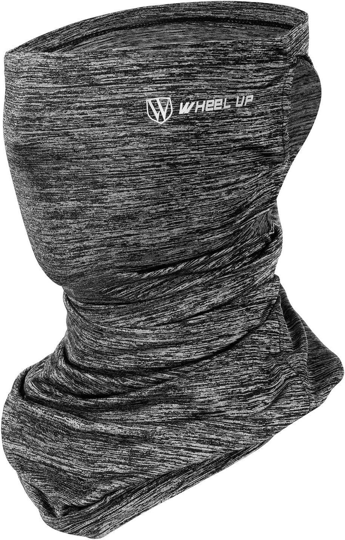 Honelife Tecido de gelo Ciclismo Máscara Facial Esportes Lenço Respirável Legal Proteção Solar Capa de Rosto Headband para Outdoor Camping Caminhadas Corrida por Honelife