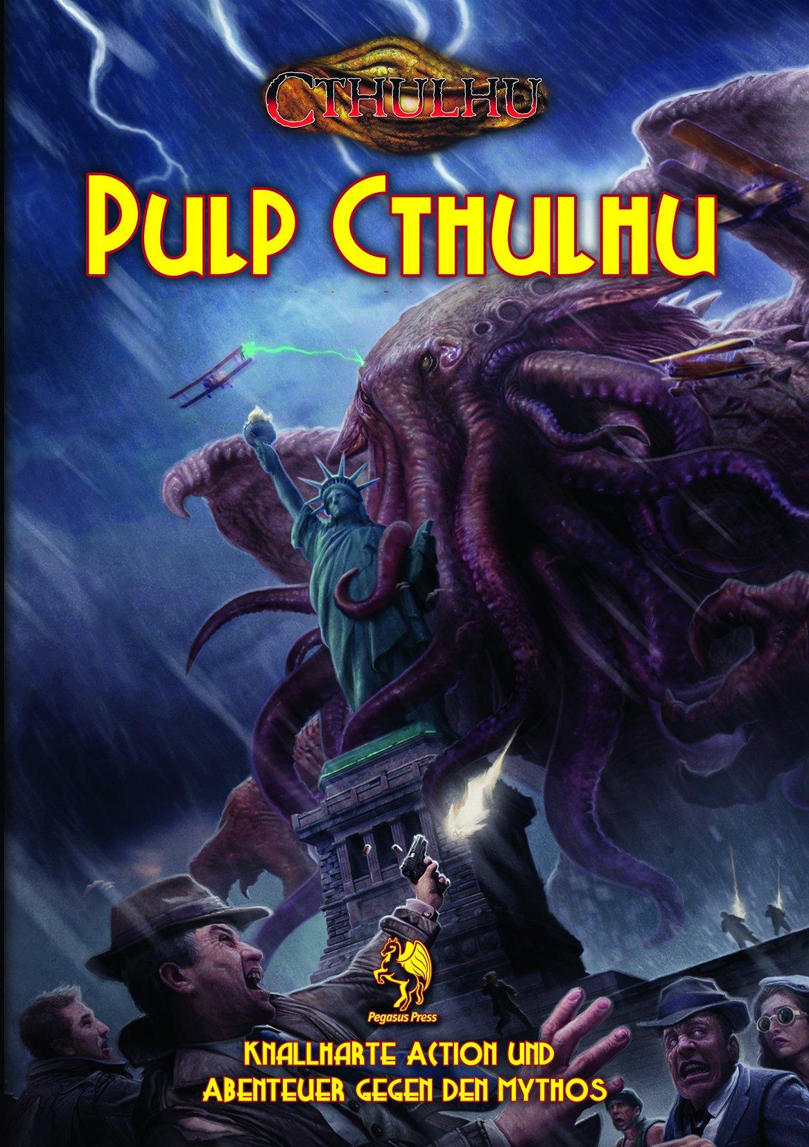 Cthulhu: Pulp Cthulhu (Softcover) *limitierte Ausgabe* Gebundenes Buch – 15. Mai 2018 Pegasus Spiele GmbH 3957891760 Spielen / Raten Rollenspiel