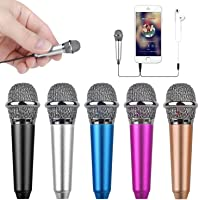 Uniwit® Mini Portable Vocal/Instrument Microphone For Mobile phone laptop Notebook Apple iPhone Sumsung Android With…