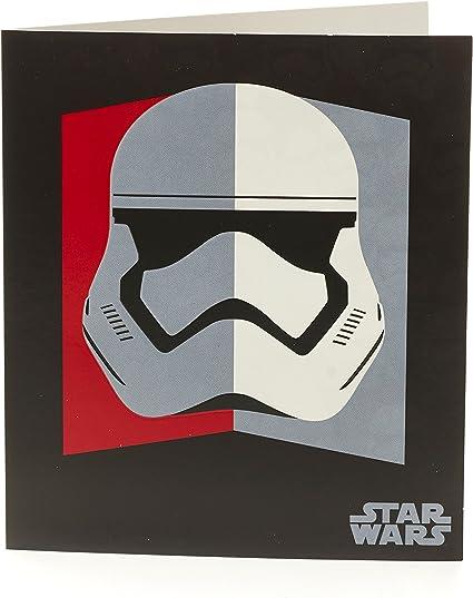 Joyeux Anniversaire Stormtrooper Trooper Star Wars Carte