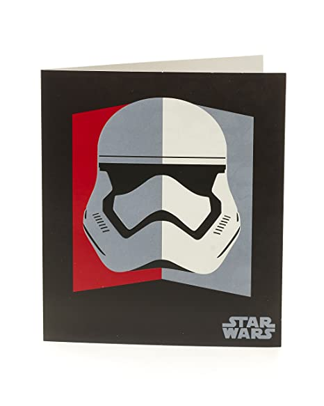 Amazon.com : Star Wars Storm Trooper Birthday Card : Office ...