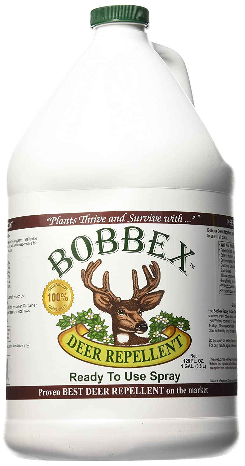 Bobbex B550200 Deer Repellent Ready to Use Refill, 1-Gallon