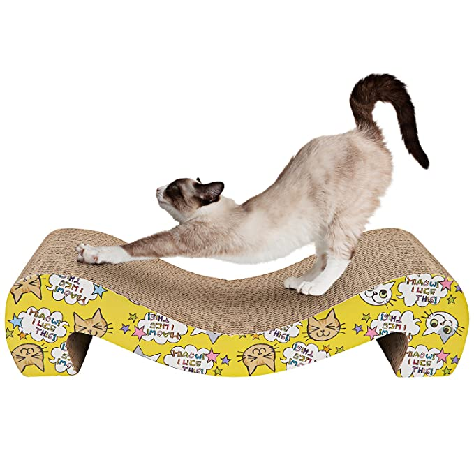 Animals Favorite El Rascador de Cartón para Gatos: Amazon.es: Productos para mascotas