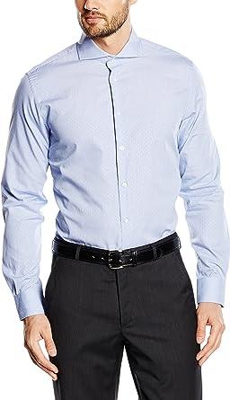 Caramelo Camisa Hombre Azul 39 cm (15.5