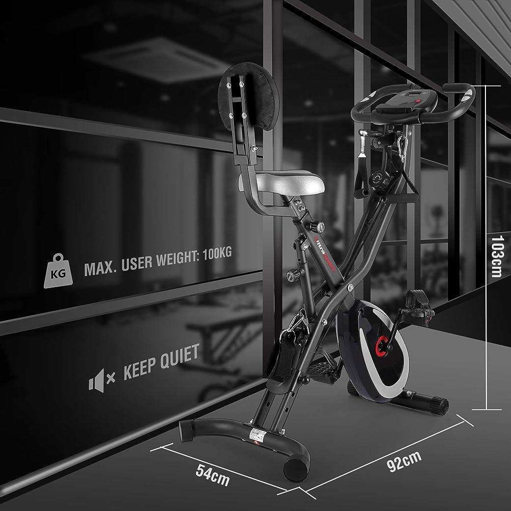 Ultrasport F-Bike Aparato de Gimnasia
