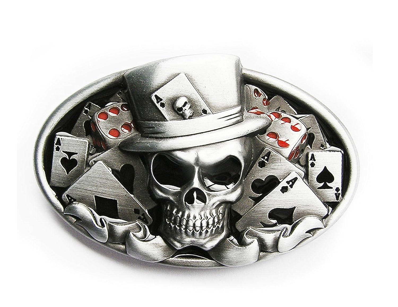 Schnalle123 - Fibbia per Cinture - uomo argento argento Taglia unica 53