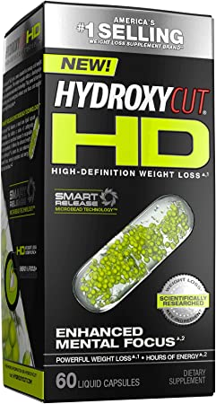 Weight Loss Pills for Women & Men   Hydroxycut HD   Weight Loss Supplement Pills   Focus Supplement + Energy Pills   Metabolism Booster for Weight Loss   Weightloss & Energy Supplements   60 Pills