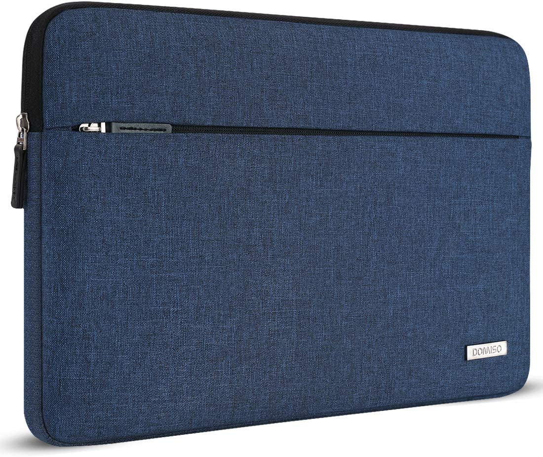 """DOMISO 14 Inch Laptop Sleeve Notebook Bag for 15"""" Surface Book 2/14"""" Ideapad 330/14"""" Lenovo ThinkPad A485 / 14"""" HP ProBook 640 G4/645 G4 / 14"""" Acer Swift 3, Blue"""