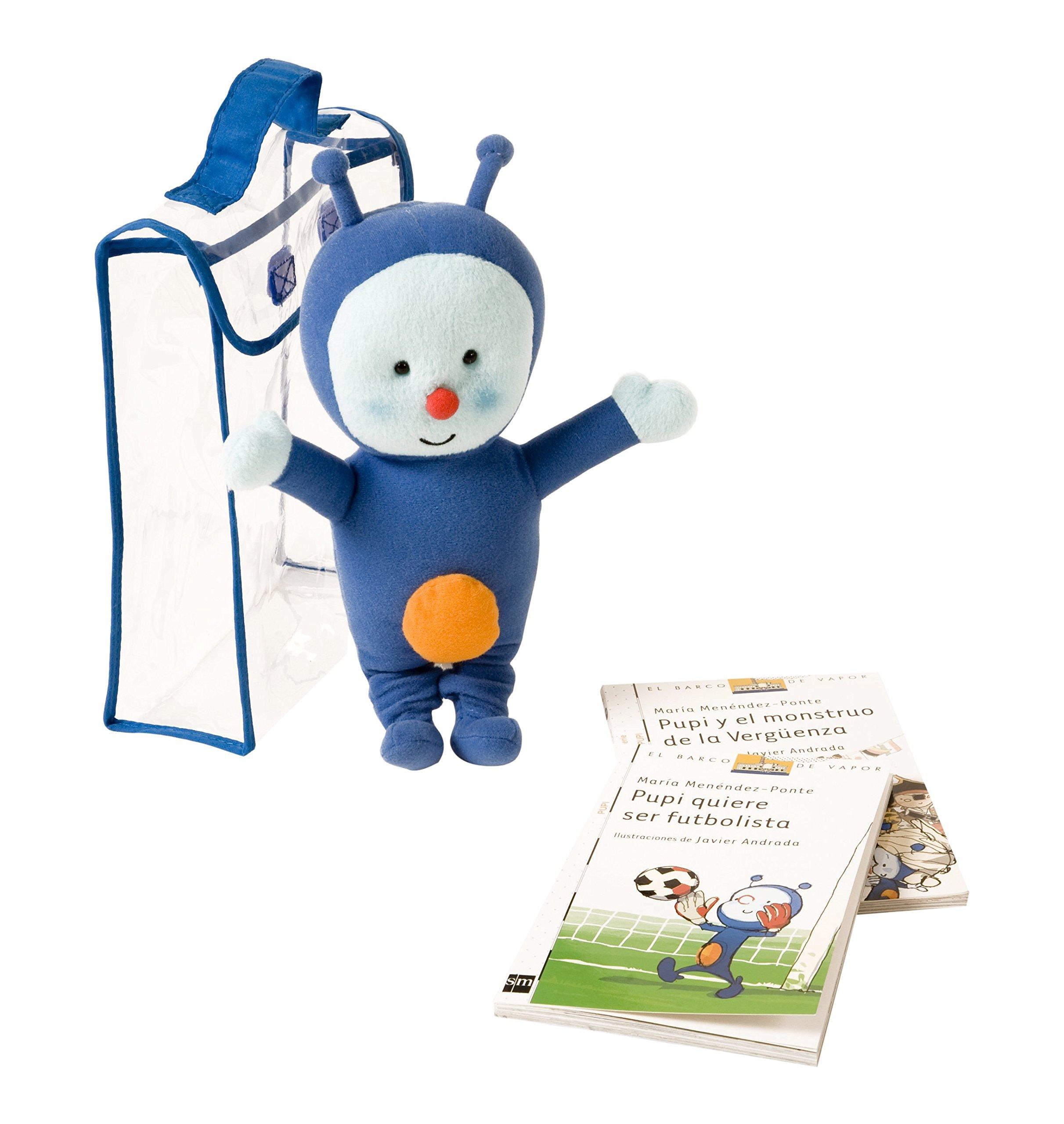 Pack Pupi con Mascota (Barco de Vapor Blanca): Amazon.es: Menéndez ...