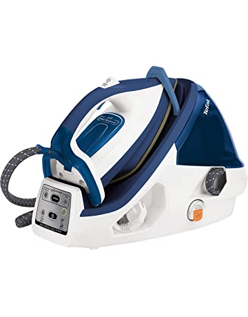 Tefal GV8932 Pro Express Plus Anti Scale High Pressure Steam Generator, 2400 Watt, White/Blue