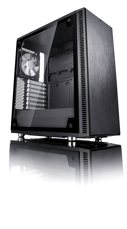 Fractal Design Define C Templado Cristal ATX/mATX/ITX PC de Ordenador - Negro: Amazon.es: Informática