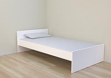 Best For Kids Simple Kinderbett 90x200 cm weiß inklusiv Lattenrost ...