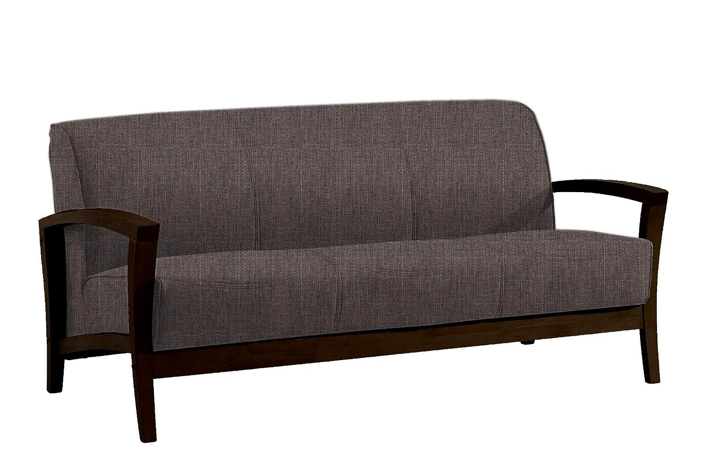 Amazon.com: fat june IT 1106 3 Seater Milano Sofa, Gray ...