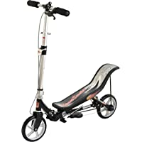 Space Scooter X580 Scooter d'action de Pompe - Trottinettes Enfant - Noir