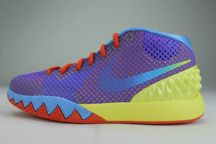 kyrie yellow and purple