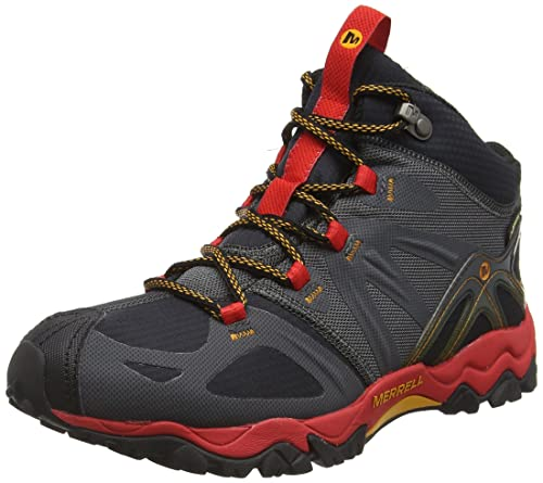 30c485b0403 Merrell Men's Grassbow Mid Sport Gore-texblack High Rise Hiking Boots