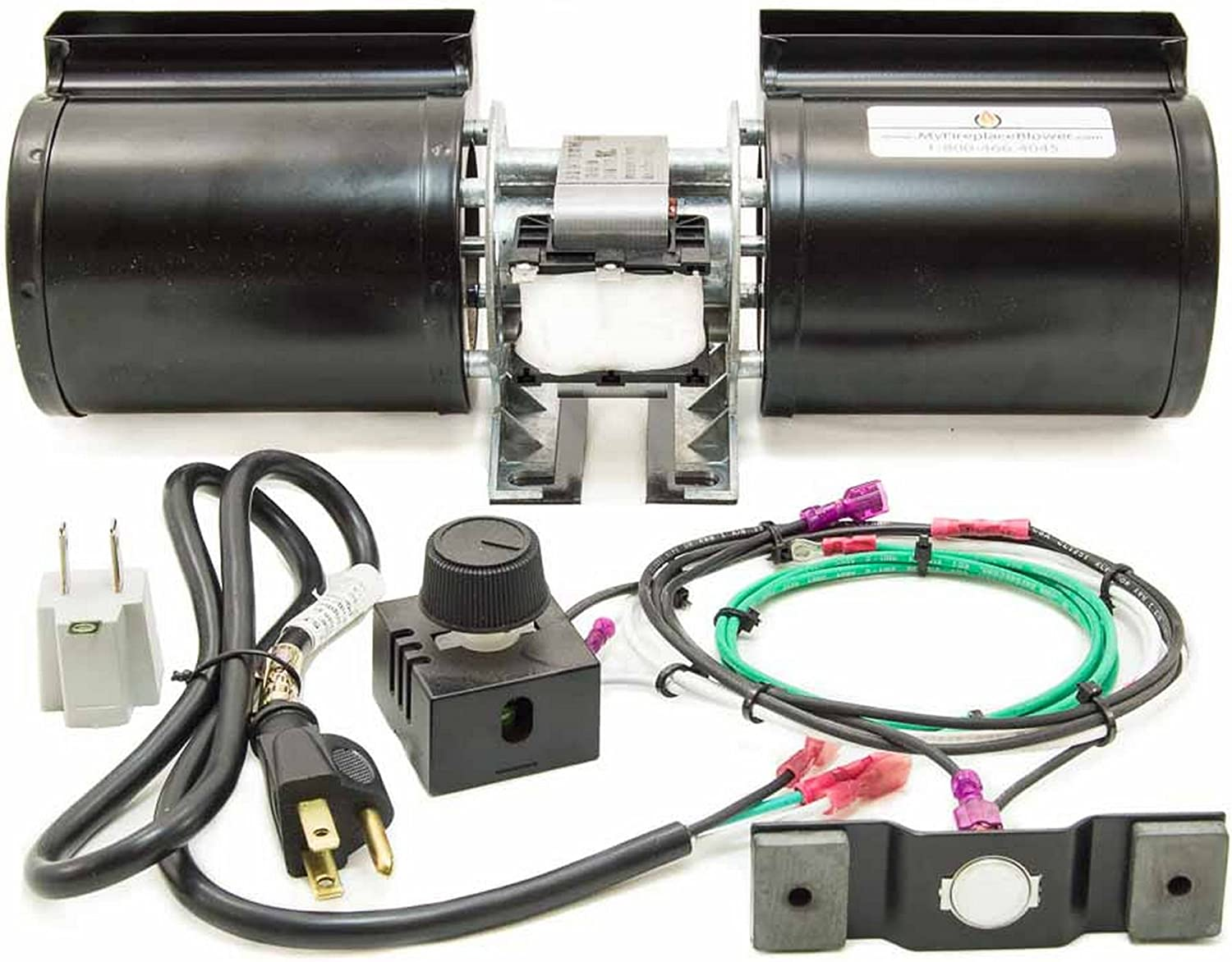 GFK-160 GFK-160A Fireplace Blower Kit for Heat N Glo Hearth and Home Quadra Fire